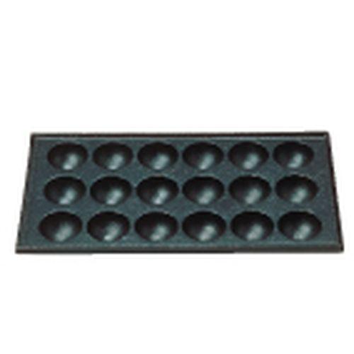 三和精機 (S)たこ焼用鉄板 18穴(大たこ焼) GTK09