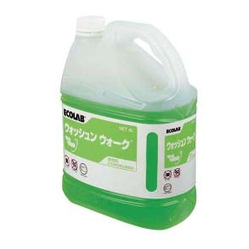 エコラボ サニタイジングウォッシュンウォーク (床用クリーナー)4L KYK0101