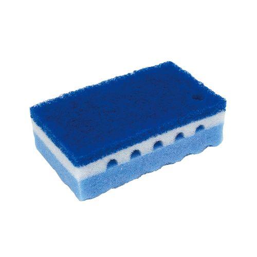 ワコー ワコーストロング スポンジたわし ハード SEAL限定商品 ブルー JSP3202 10個入 数量は多