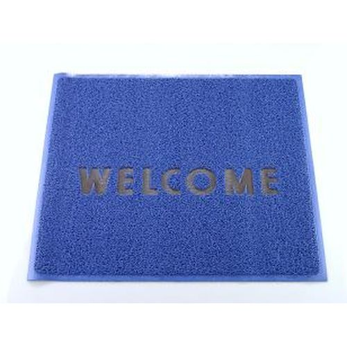 3M 文字入マット WELCOME 青 KMT1314A