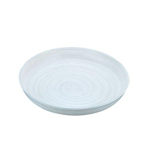遠藤商事 アルミ電磁用ドラ鉢 白刷毛目 尺2 NDL0302