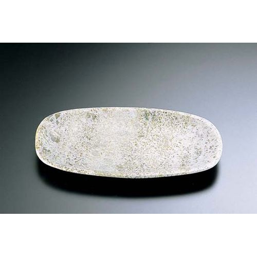 TKG 石器 角小判皿 YSSJ-015 30cm RIS1603