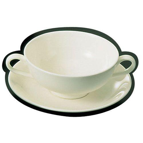 山加 ブライトーンBR700(ホワイト) クリームスープカップ(6個入) RSC631