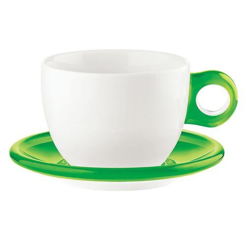 送料無料 グッチーニ ラージコーヒーカップ 激安セール 2客セット グリーン RGTS402 いよいよ人気ブランド 2775.0044