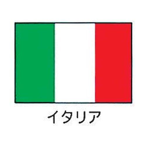 上西産業 エクスラン万国旗 70×105cm イタリア YJN6601