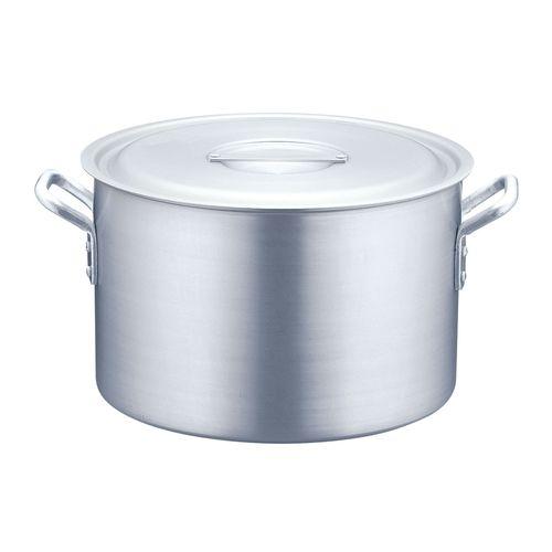 TKG 半寸胴鍋 アルミニウム(アルマイト加工) (目盛付)TKG 48cm AHV6248