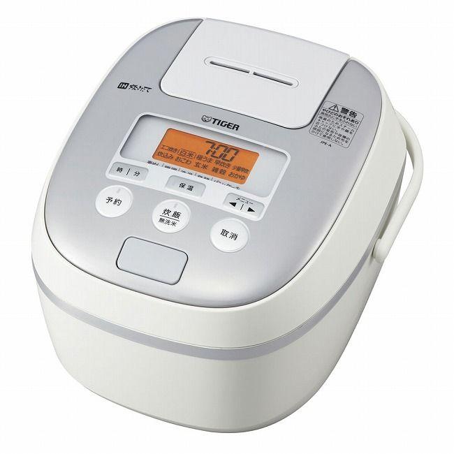 タイガー IH炊飯ジャー JPE-A100 ホワイト [DSIN401]
