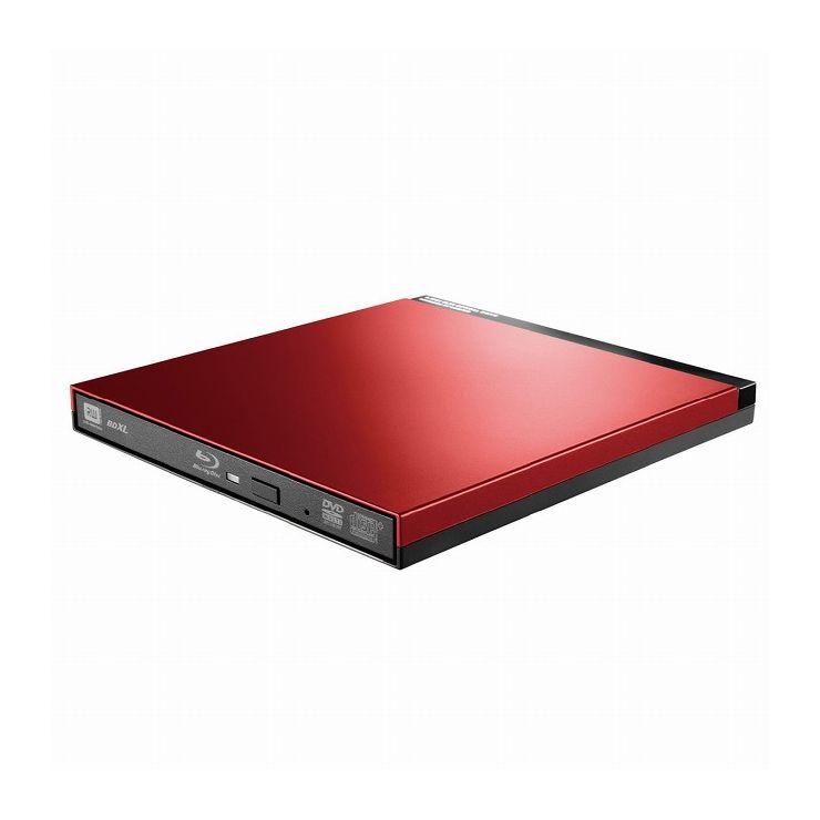 ロジテック UHDBDドライブ搭載USB3.0ポータブルブルーレイ LBD-PUD6U3LRD(代引不可)【送料無料】