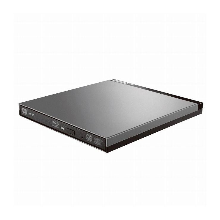 ロジテック UHDBDドライブ搭載USB3.0ポータブルブルーレイ LBD-PUD6U3LGY(代引不可)【送料無料】