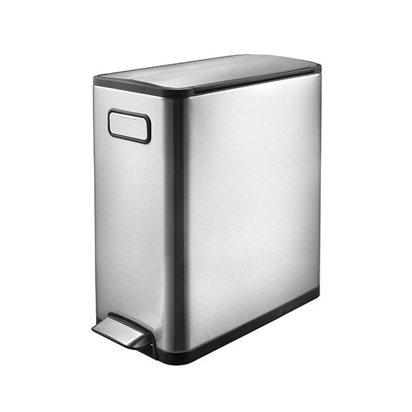 EKO エコフライ ステップビン 30L ステンレス ゴミ箱 ごみ箱 1年保証 ダストボックス キEK9377MT-30L【送料無料】