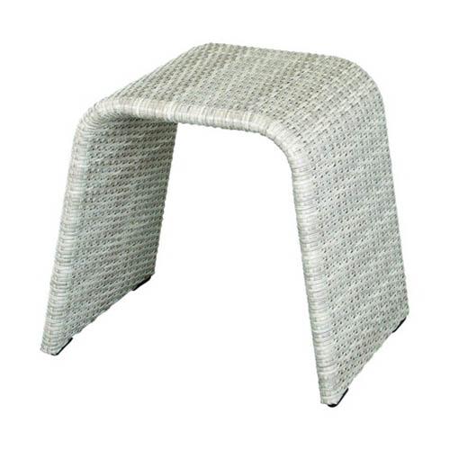今枝ラタン スツール アジアン 丸椅子 おしゃれ 丸スツール 和モダン ガーデンスツール 北欧 ガーデンチェア P-S-103G【送料無料】