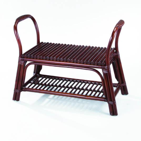 今枝ラタン 籐 玄関立ち上がり椅子 スツール アジアン家具 高級ラタン エスニック バリ おしゃれ 高耐久 長持ち S-70D【送料無料】