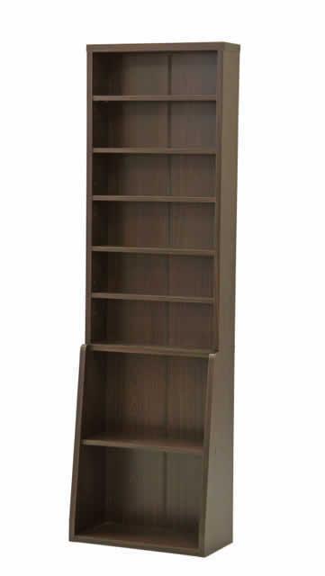 書棚60 BK-6020 ブラウン(代引き不可)【送料無料】