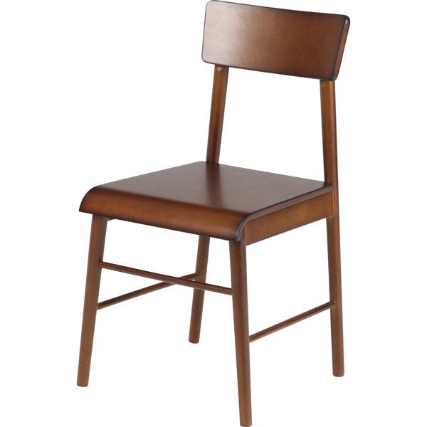 ダイニングチェア 椅子 木目 ダイニング エクレア DBR(代引き不可)
