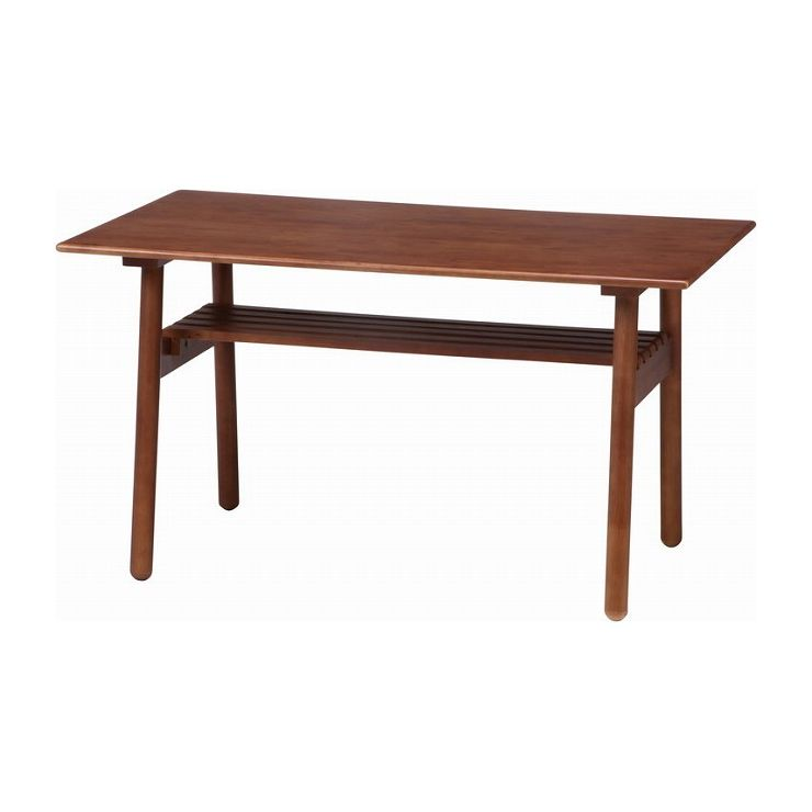 ダイニングテーブル 食卓テーブル 幅120×奥行70×高さ66cm 天然木 ラバーウッド(代引不可)【送料無料】【S1】