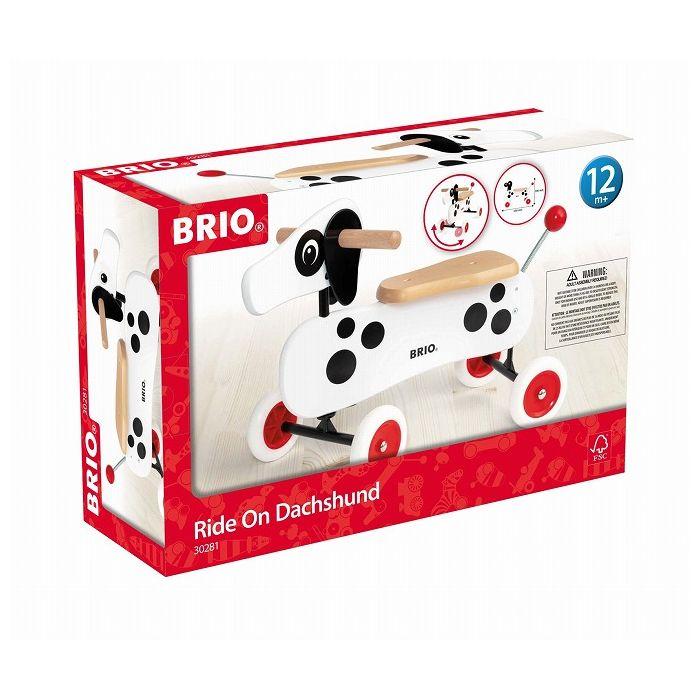 送料無料 ブリオ ライドオンダッチー 白 30281 乗り物 カート おもちゃ 玩具 ホビー オモチャ 即日出荷 木製 誕生日 お祝い 話題