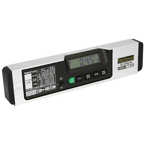 エビス 磁石付デジタルレベル ED-26DGLMN(代引不可)【送料無料】【S1】