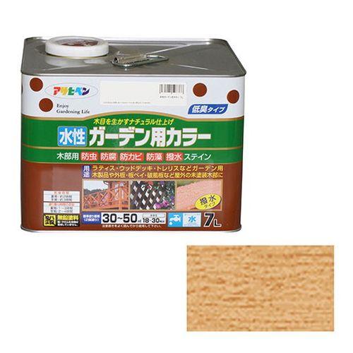 アサヒペン 水性ガーデン用カラー 7L-クリヤ【送料無料】【S1】