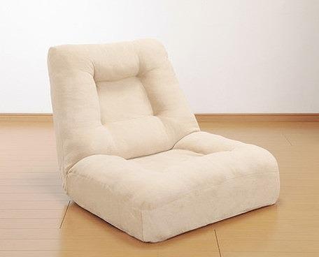 座椅子 ゆったりワイドコイルソファ ポケットコイル 42段リクライニング 座椅子 ソファ座椅子 ワイド ゆったり(代引不可)【送料無料】