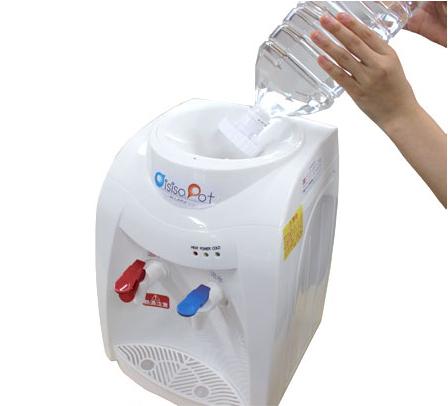 ウォーターサーバー 温水 冷水 給水器 卓上型 家庭用サーバー おいしさポット(代引不可)【送料無料】
