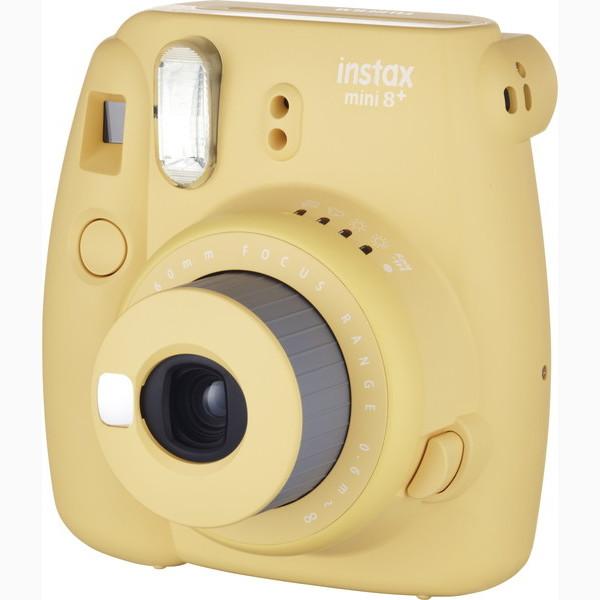 富士フイルム チェキ インスタントカメラINSTAX MINI8プラス ハニー #16495946(代引不可)【送料無料】