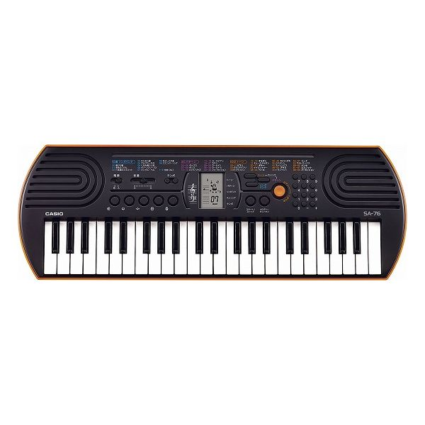 カシオ 44鍵盤ミニキーボード SA-76(代引不可)【S1】