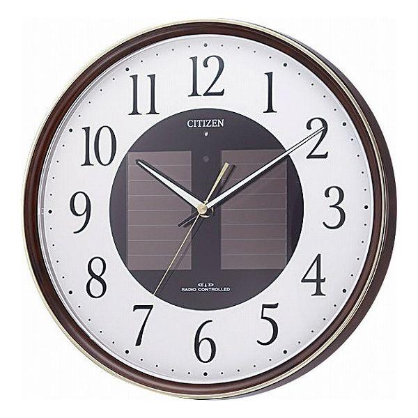 シチズン ソーラー電波掛時計 4MY807-023(代引不可)