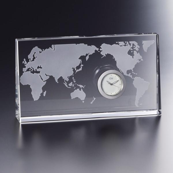 グラスワークスナルミ ワールドクロック GW1000-11074(代引不可)
