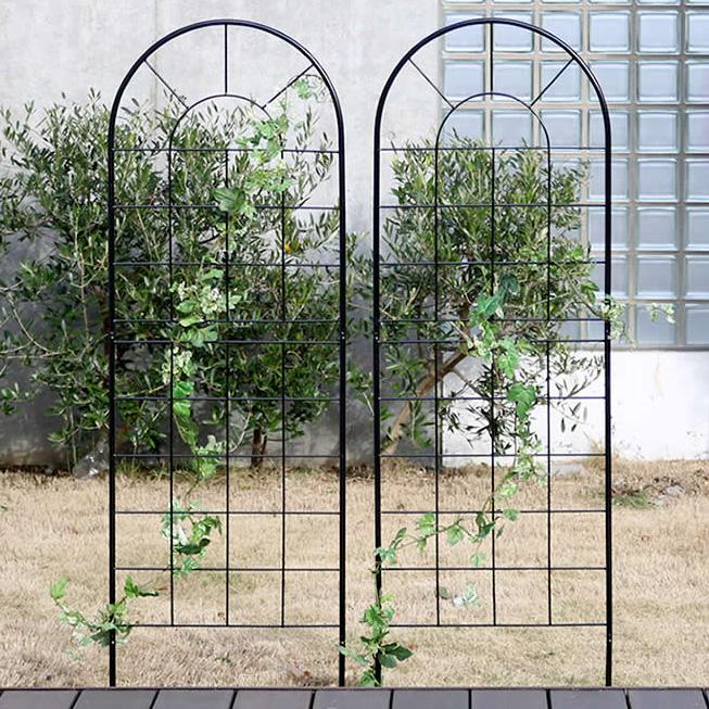 クラシックフェンス150 ロータイプ 4枚組 フェンス 低い アンティーク ガーデン ガーデニング おしゃれ 北欧 庭園(代引不可)【送料無料】