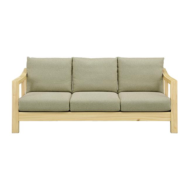ソファ 3人掛け ファブリック 開梱設置無料 カバーリング sofa 無垢材使用 ひのき 北欧 おしゃれ(代引不可)【送料無料】