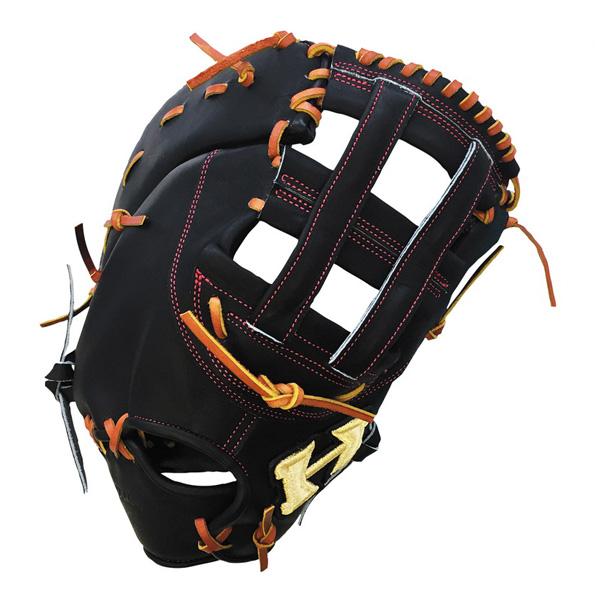 ハイゴールド HI-GOLD PAG-315F 硬式ファーストミット ブラック/タン 野球 一般硬式用【送料無料】