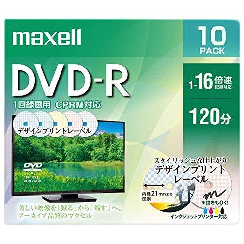 モデル着用&注目アイテム 日立マクセル ショッピング 録画用DVD-R DRD120PME.10S