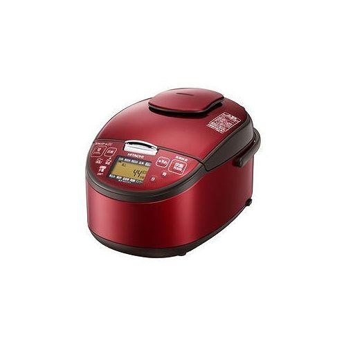 日立 圧力スチームIH炊飯器 5.5合 レッド RZ-SG10J-R RZ-SG10J-R