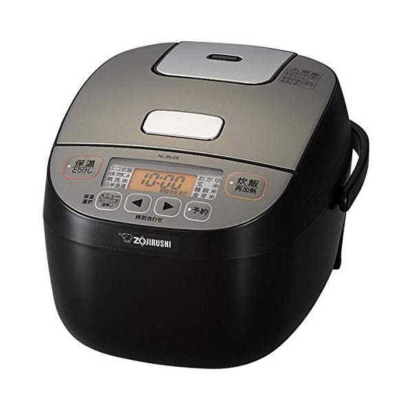 象印 炊飯器 3合炊き NL-BU05-BA ブラック マイコン炊飯ジャー 極め炊き【送料無料】