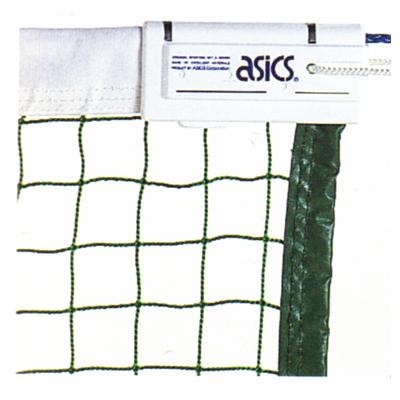 アシックス 硬式テニスネット ポピュラータイプ硬式テニスネット 114000 グリーン(80)