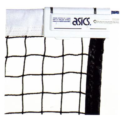 アシックス 硬式テニスネット ポピュラータイプ硬式テニスネット 114000 ブラック(90)