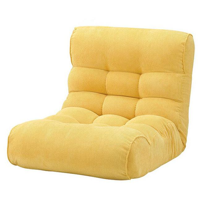 ピグレットビッグ2ndコーディロイ 座椅子 ソファ リクライニングチェア フロアチェア 超多段階 1P 一人掛け(代引不可)【送料無料】