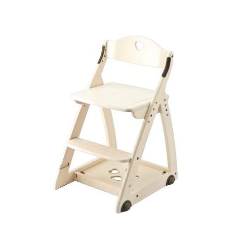 イトーキ 学習椅子 学習チェア 木製チェア キッズチェア 木製チェア カモミール 板座 KM47-82(代引不可)【送料無料】