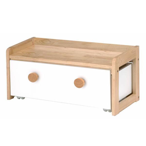 収納BOX付きテーブル テーブル 収納 子供 こども キッズ naKIDS ネイキッズ【送料無料】(代引き不可)