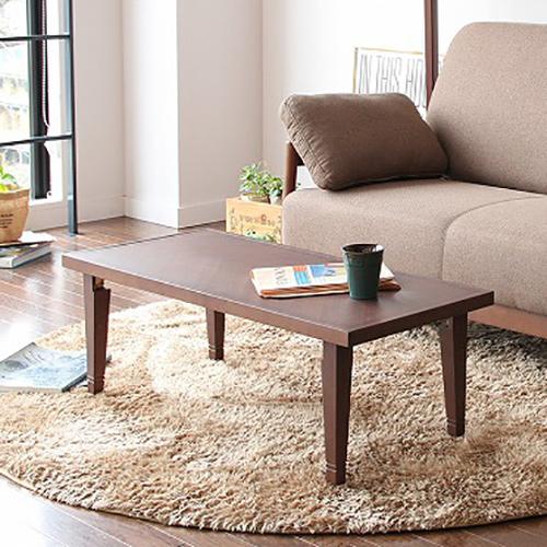 ヘリンボーン柄 パネルテーブル 93×42cm リビングテーブル カフェテーブル ローテーブル センターテーブル 木製テーブル(代引不可)【送料無料】