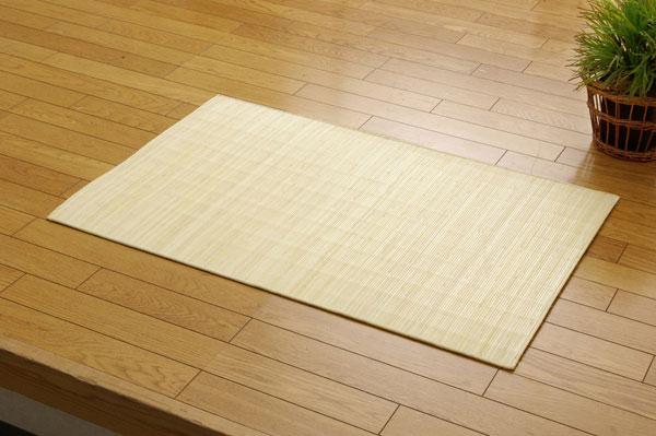 インドネシア産 39穴マシーンメイド 籐むしろマット 『ジャワ』 80×240cm【送料無料】【代引き不可】