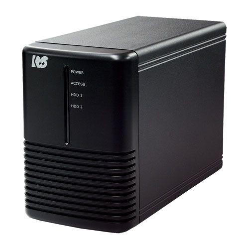 ラトックシステム USB3.0 RAIDケース (HDD2台用) ブラック RS-EC32-U3RX(代引き不可)