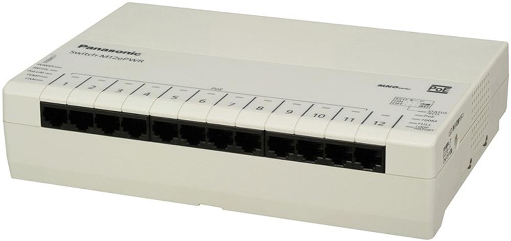パナソニックESネットワークス Switch-M12ePWR 5年先出しセンドバック保守バンドル品 PN271299B5(代引き不可)