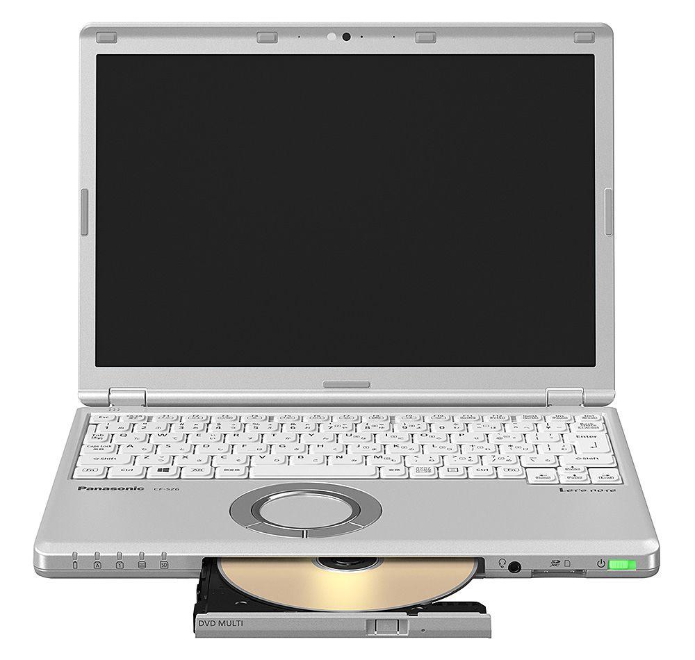 パナソニック Let's note SZ6 法人(Corei5-7300UvPro/8GB/SSD256GB/SMD/W10P64/12.1WUXGA/電池S) CF-SZ6RDQVS(代引き不可)