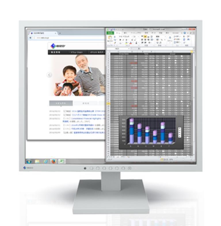 EIZO <FlexScan>19インチモニター(1280x1024/DisplayPort(HDCP対応)x1/DVI-D 24ピン(HDCP対応)x1/D-Sub 15ピン(ミニ)x1/セレーングレイ) S1934-TGY(代引き不可)