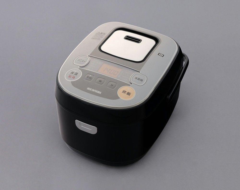 アイリスオーヤマ 米屋の旨み 銘柄炊き IHジャー炊飯器5.5合 RC-IB50-B(代引き不可)