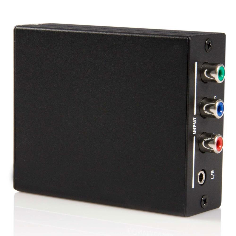 StarTech コンポーネント - HDMI コンバータ アナログ(3.5mm3極ミニジャック)/デジタル(同軸デジタルRCA)オーディオ入力対応 CPNTA2HDMI(代引き不可)