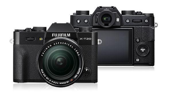 富士フイルム <X>FUJIFILM ミラーレス一眼カメラ X-T20・レンズキット(2420万画素/ブラック) X-T20LK-B(き)