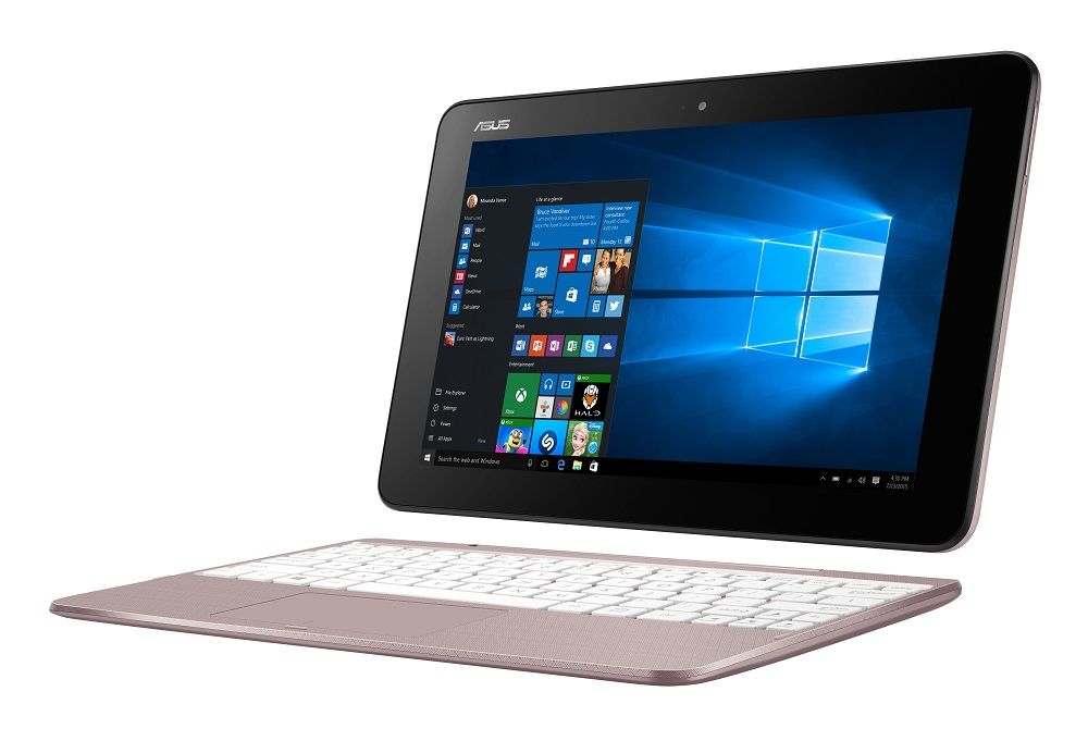 "ASUS JAPAN <TransBook> T101HA ノートPC(ピンクゴールド/10.1""(WXGA)タッチスクリーン/x5-Z8350/2G/64G EMMC/802.11AC/BT4.1/Windows10 Home 64ビット/Office Mobile) T101HA-PINK(代引き不可)"