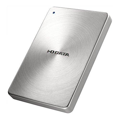 アイ・オー・データ USB 3.0対応 ポータブルHDD「カクうす」1.0TB 銀